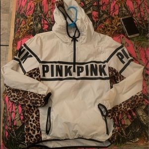 Victoria's Secret Pink anorak jacket